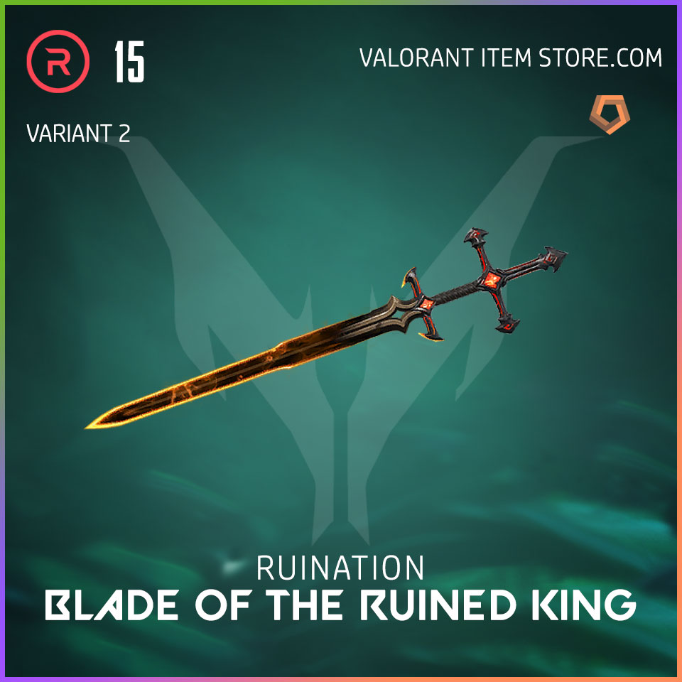 Ruination Blade of the Ruined King Valorant Skin variant 2