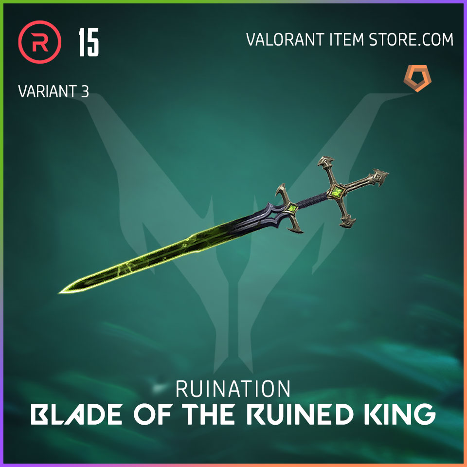 Ruination Blade of the Ruined King Valorant Skin variant 3