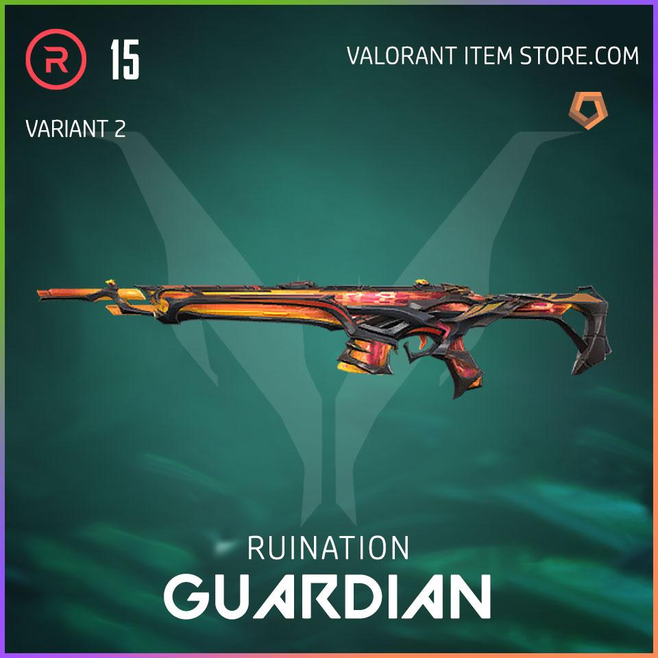 Ruination Guardian Valorant Skin variant 2