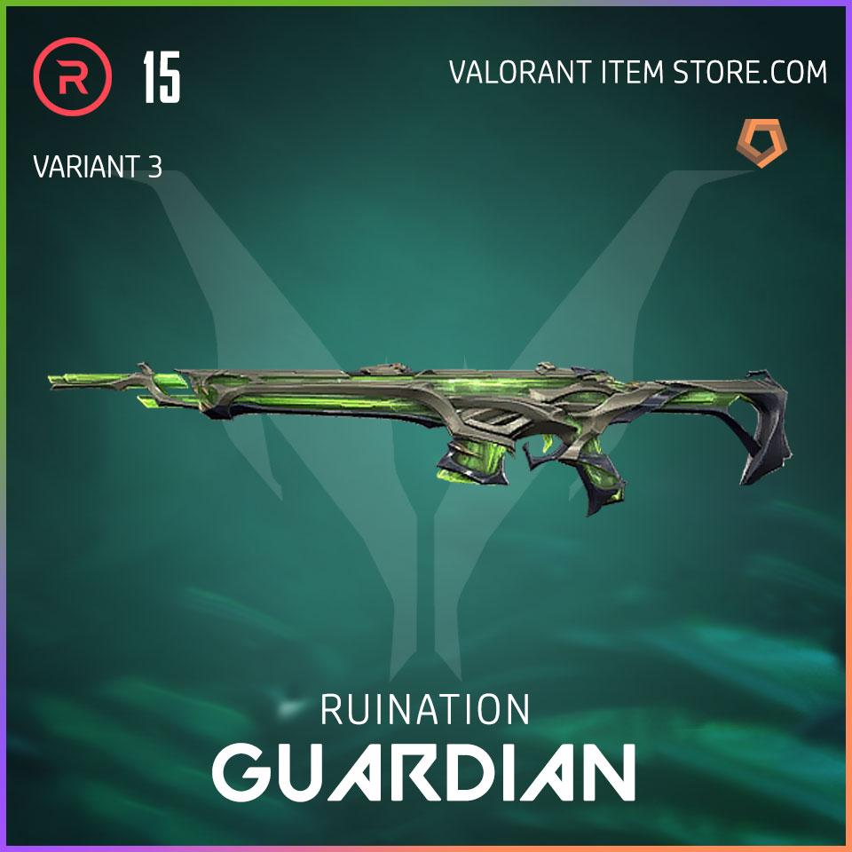 Ruination Guardian Valorant Skin variant 3