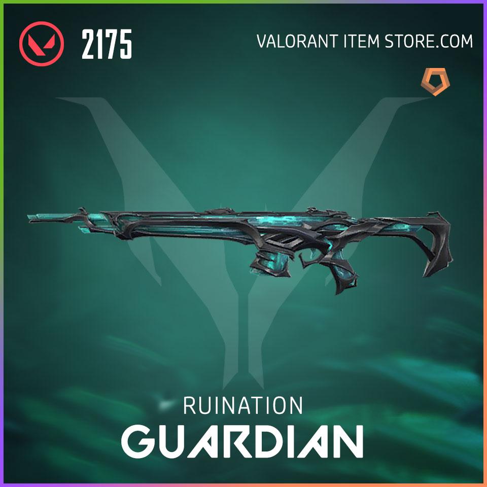 Ruination Guardian Valorant Skin