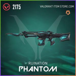 Ruination Phantom Valorant Skin