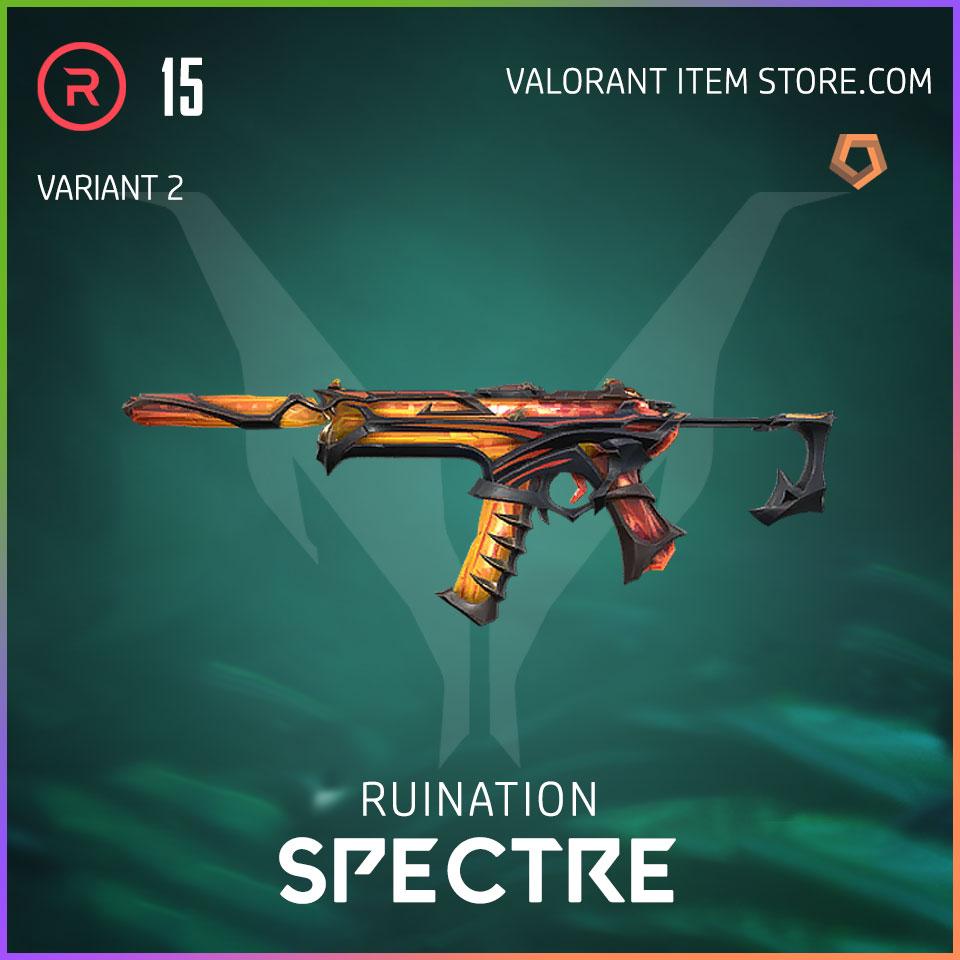 Ruination Spectre Valorant Skin variant 2
