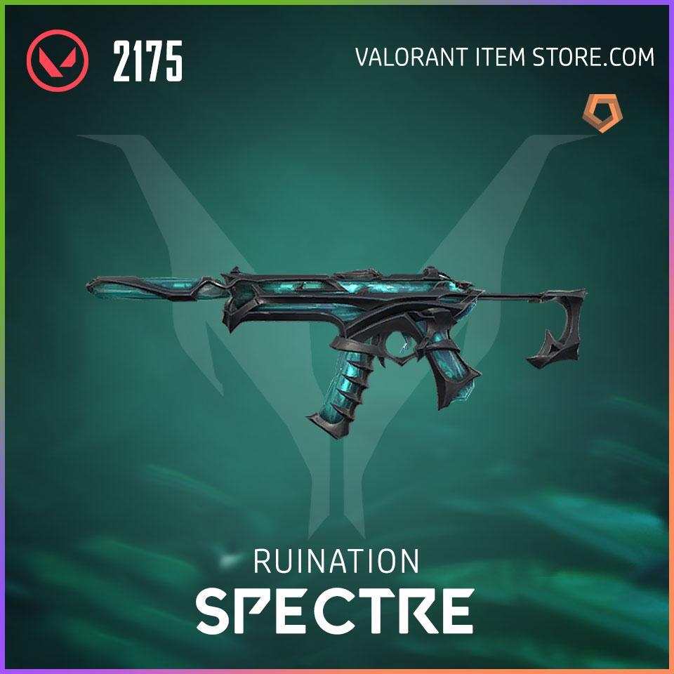 Ruination Spectre Valorant Skin