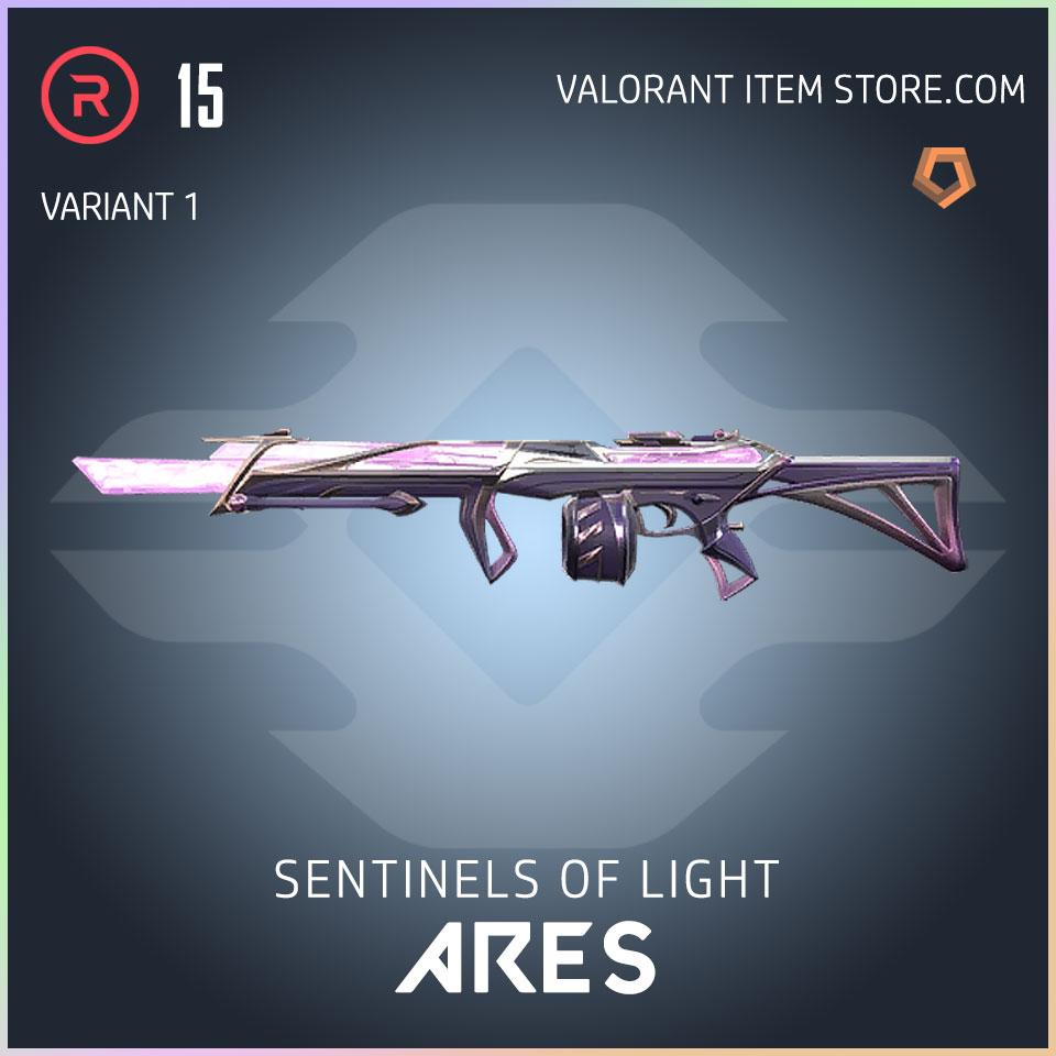 Sentinels of Light Ares Valorant Skin variant 1