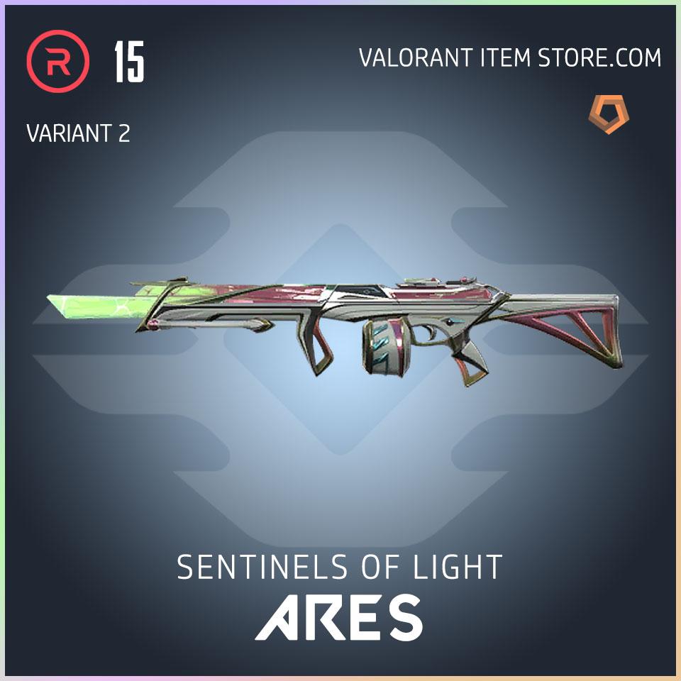 Sentinels of Light Ares Valorant Skin variant 2