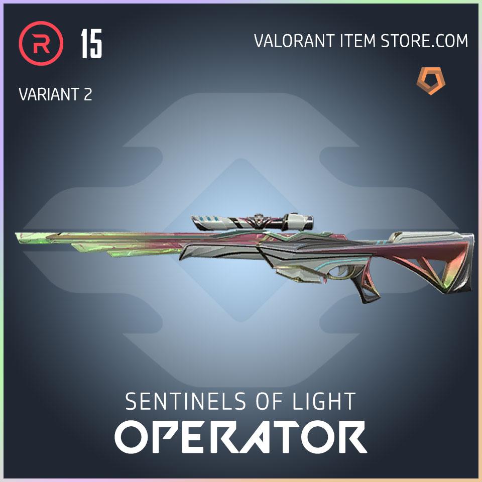 Sentinels of Light Operator Valorant Skin variant 2