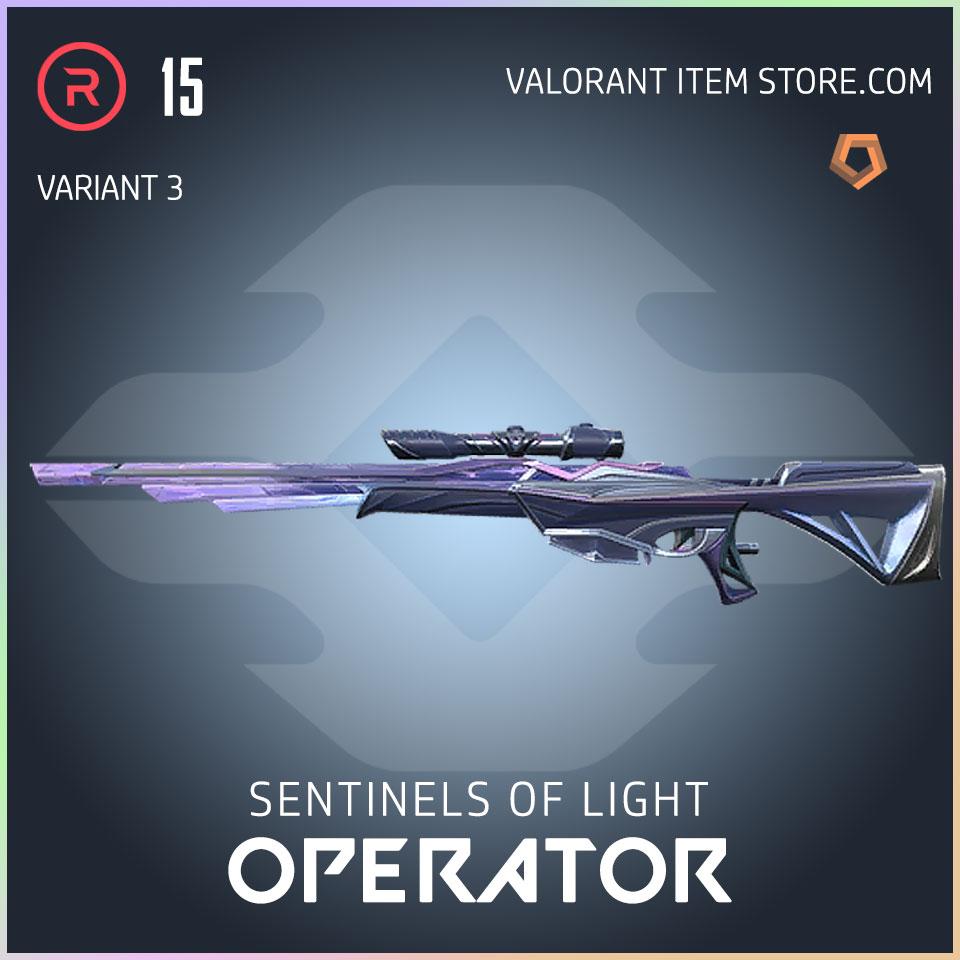 Sentinels of Light Operator Valorant Skin variant 3