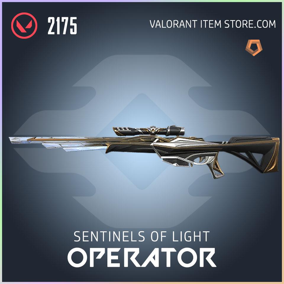 Sentinels of Light Operator Valorant Skin