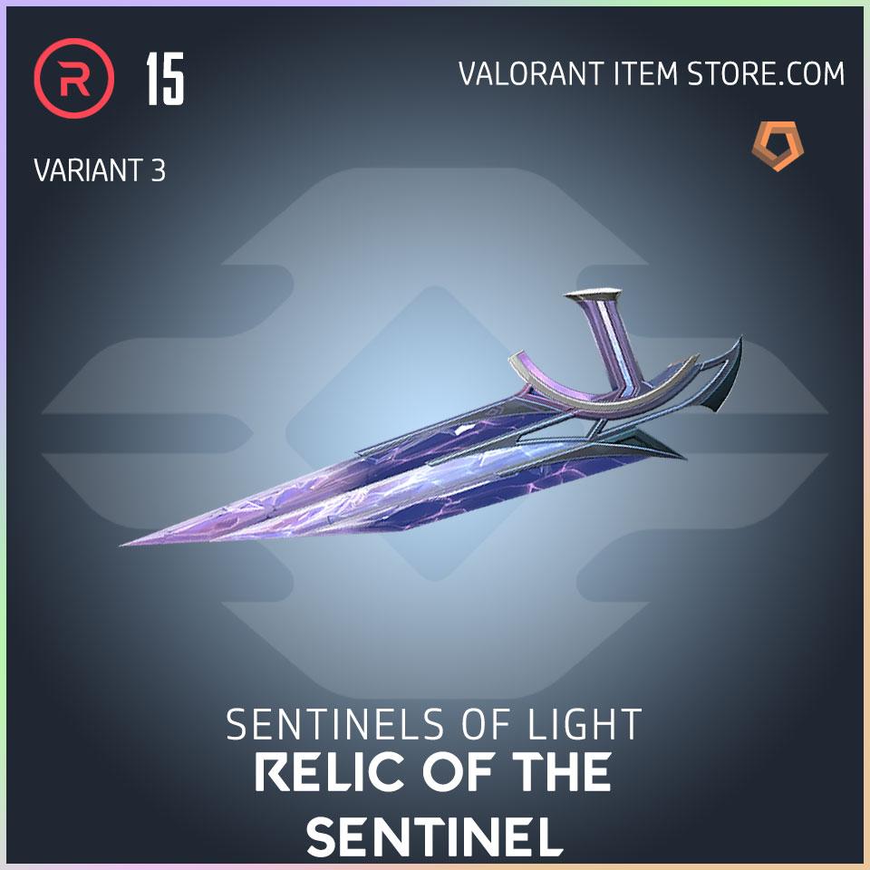 Sentinels of Light Relic of the Sentinel melee Valorant Skin variant 3