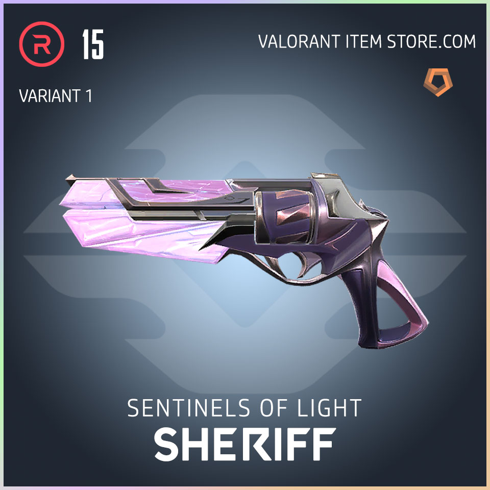 Sentinels of Light Sheriff Valorant Skin variant 1
