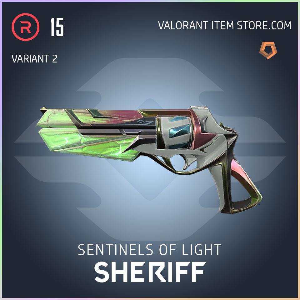 Sentinels of Light Sheriff Valorant Skin variant 2