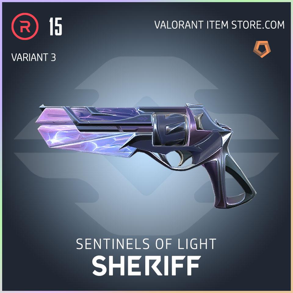 Sentinels of Light Sheriff Valorant Skin variant 3