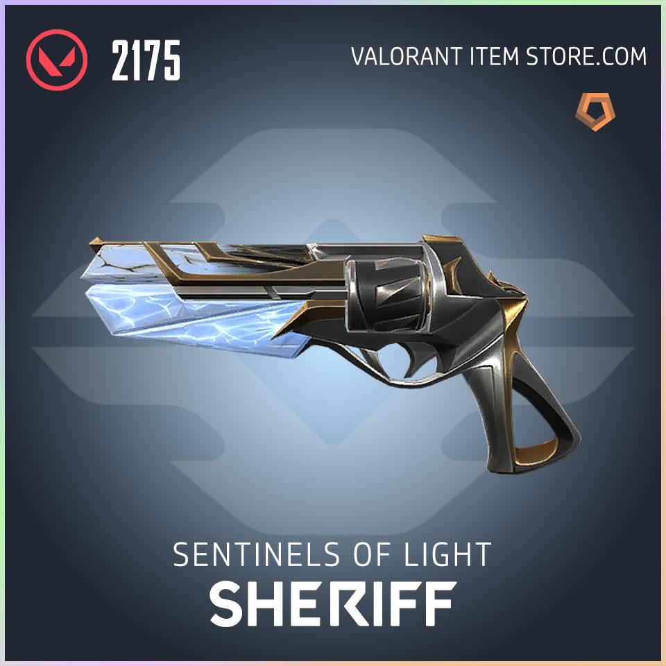 Sentinels of Light Sheriff Valorant Skin
