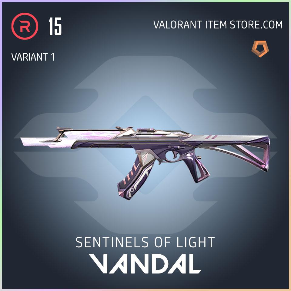 Sentinels of Light Vandal Valorant Skin variant 1