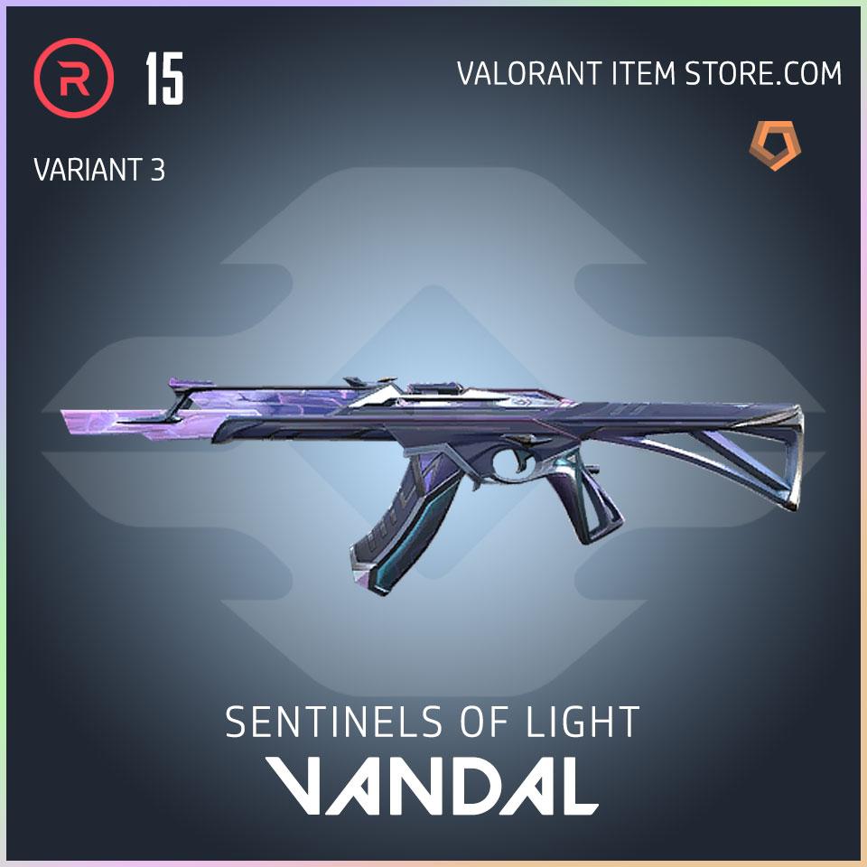 Sentinels of Light Vandal Valorant Skin variant 3