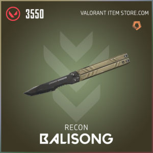 recon balisong melee butterfly knife valorant
