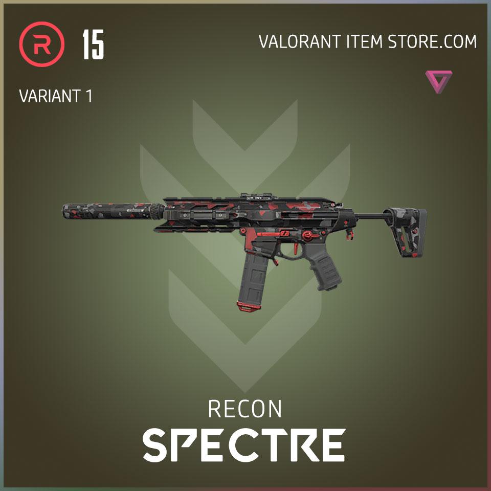 recon spectre valorant variant 1