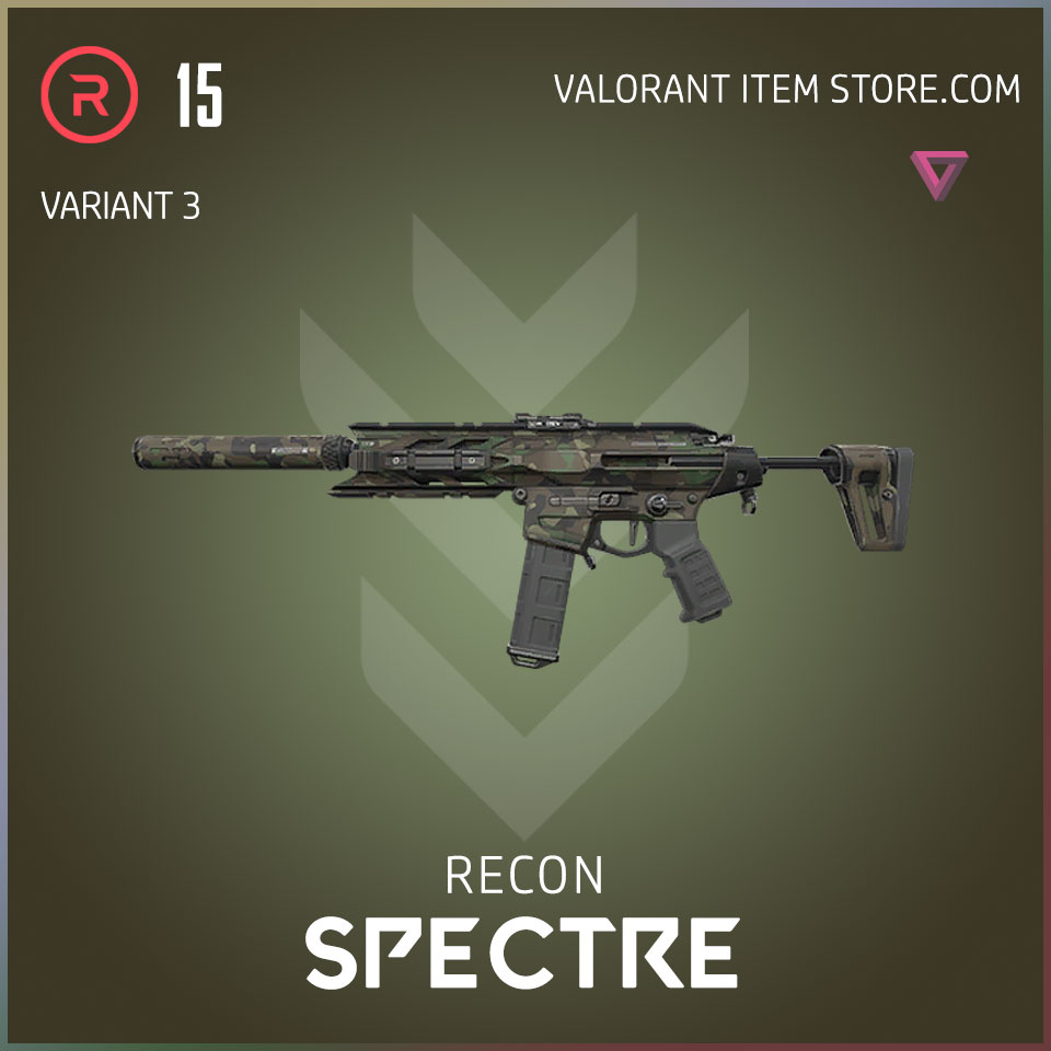 recon spectre valorant variant 3