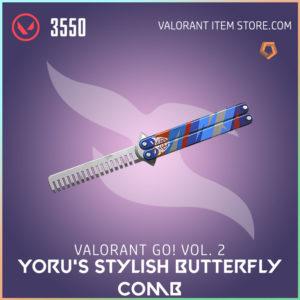 VALORANT GO! Volume 2 Yoru's Stylish Butterfly Comb