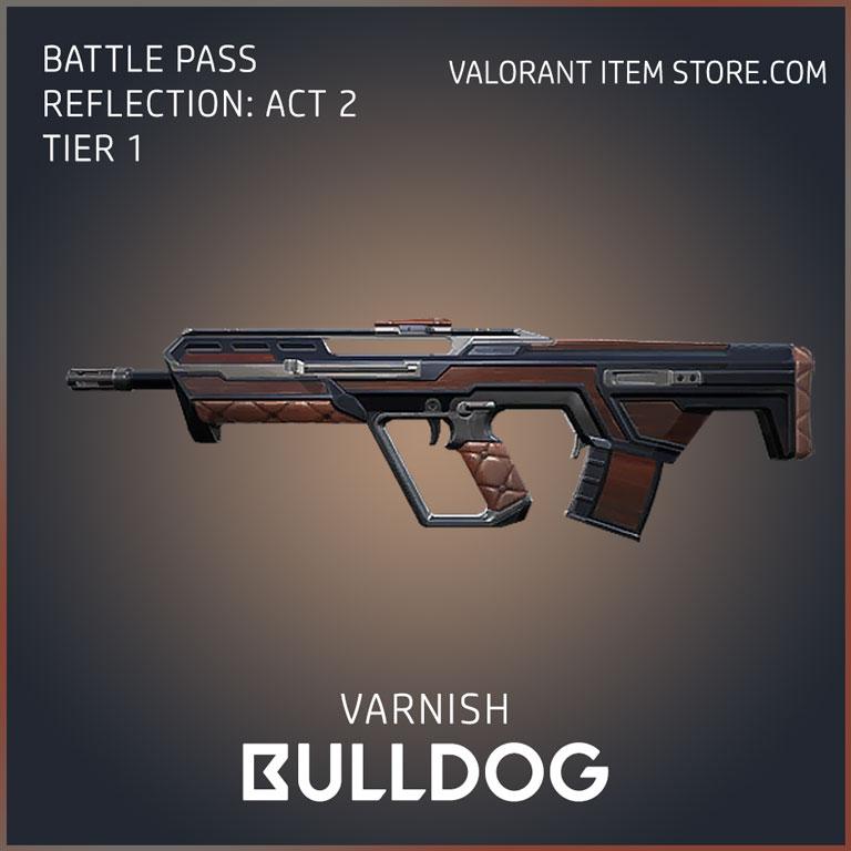 varnish bulldog battle pass reflection act 2 tier 1