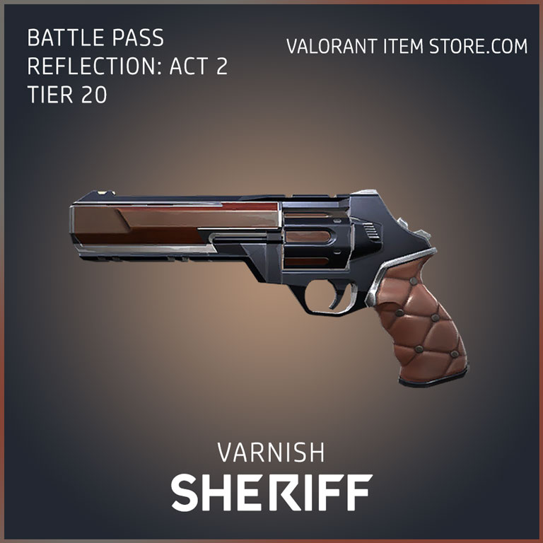 varnish sheriff battle pass reflection act 2 tier 20