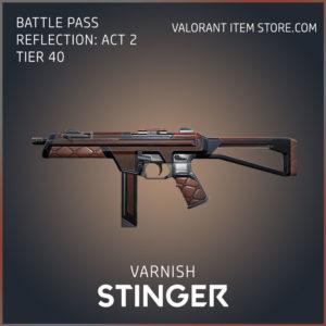 varnish stinger battle pass reflection act 2 tier 40