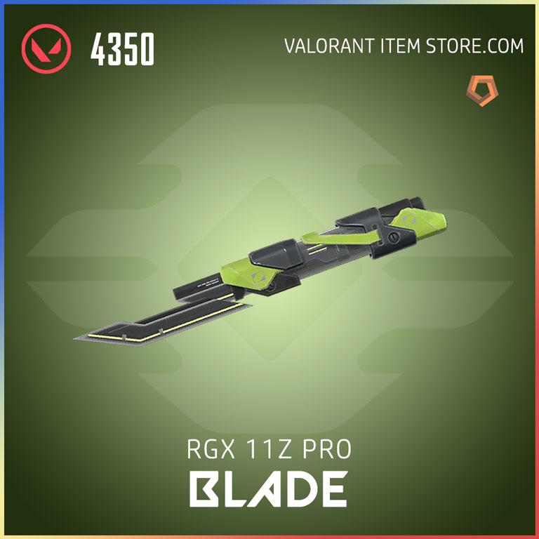 RGX 11z Pro blade